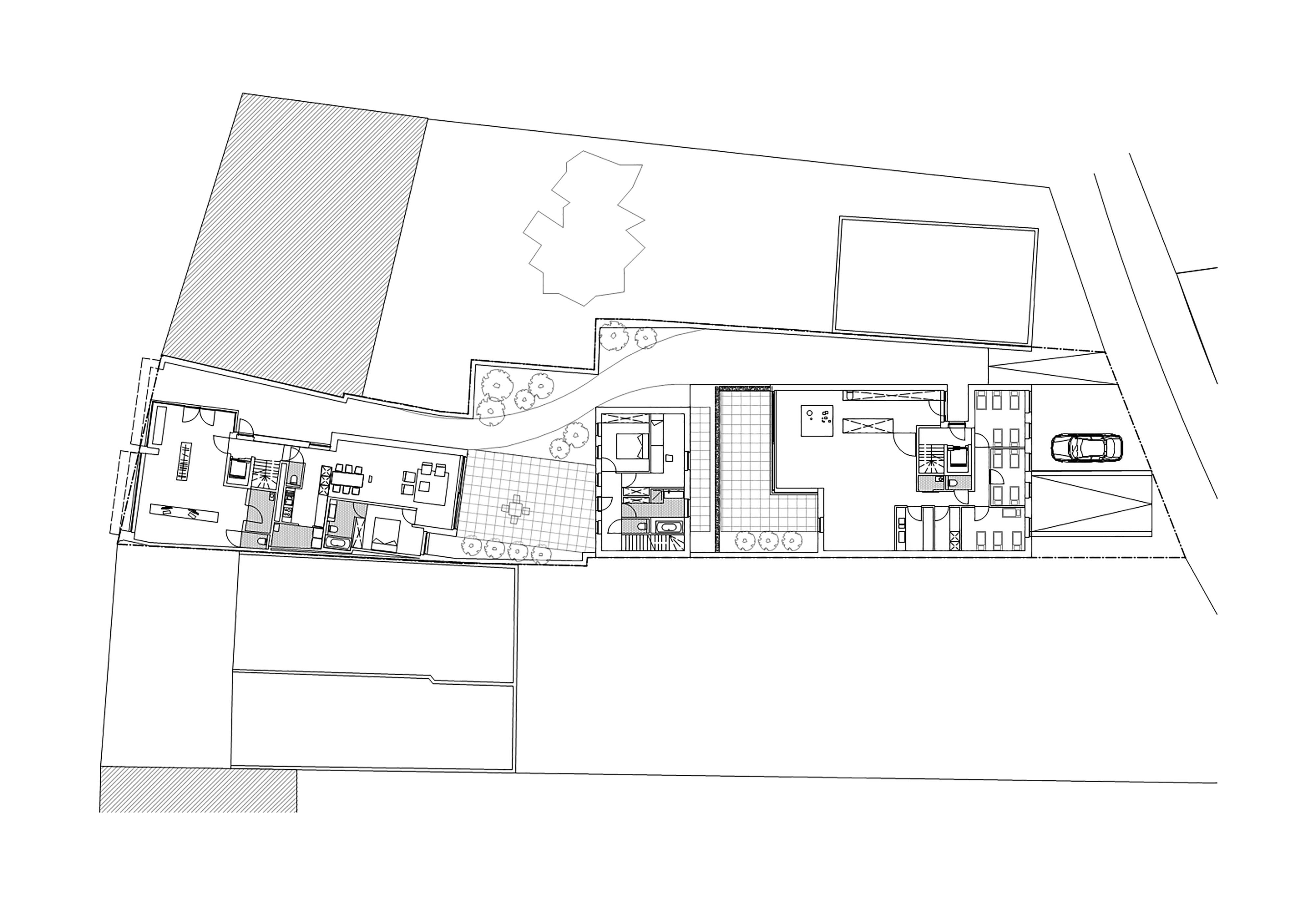 inplantingsplan appartement