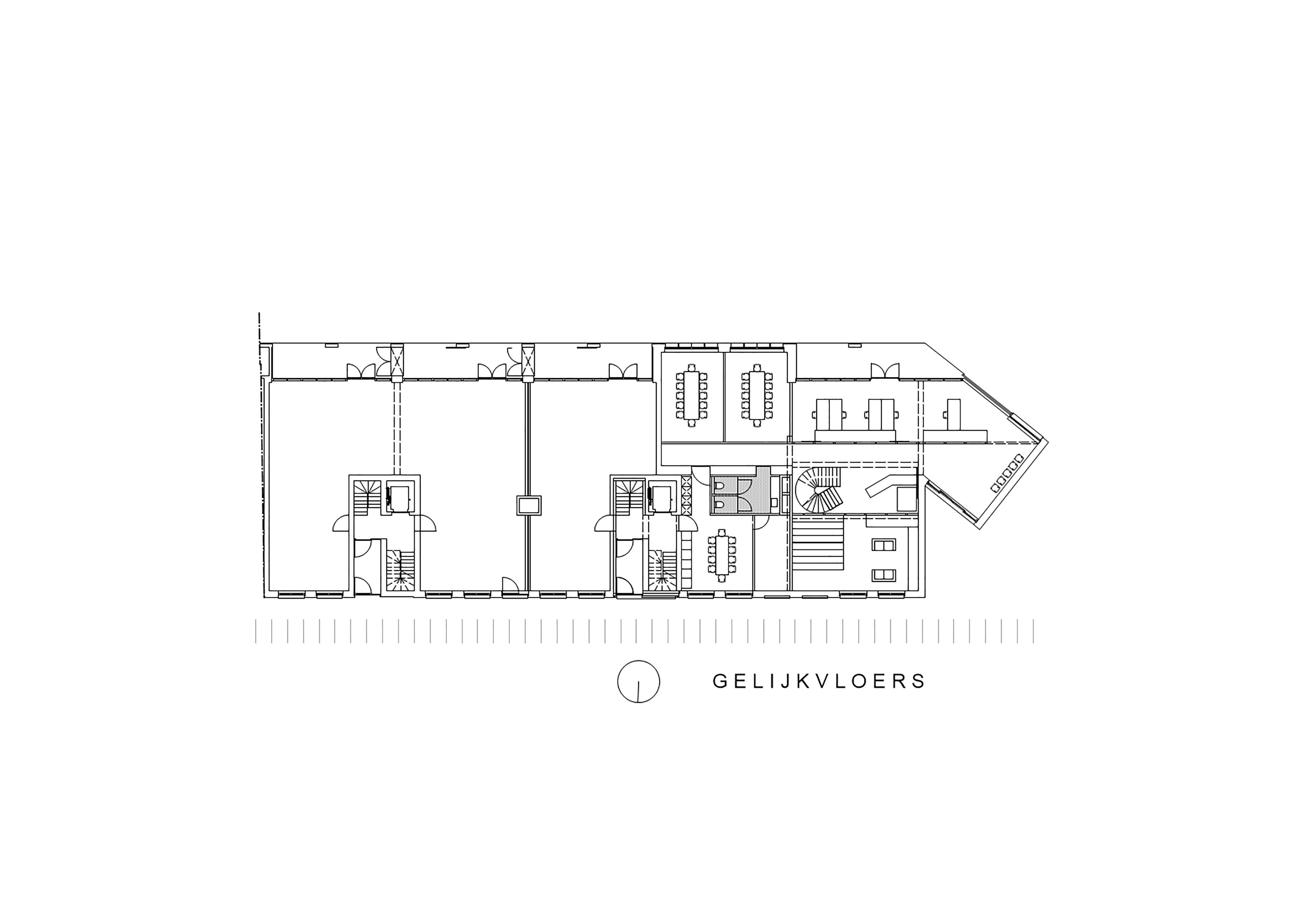 gelijkvloers appartementen