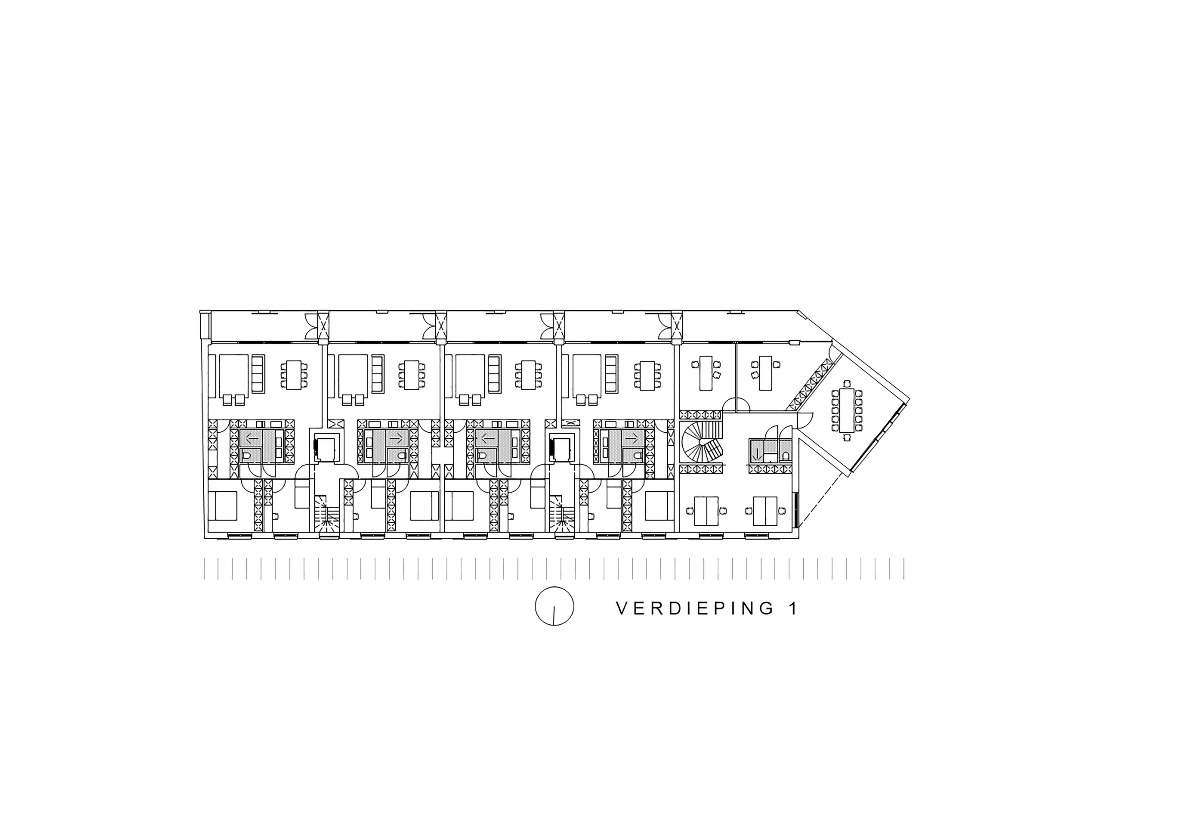 verdieping 1 appartementen