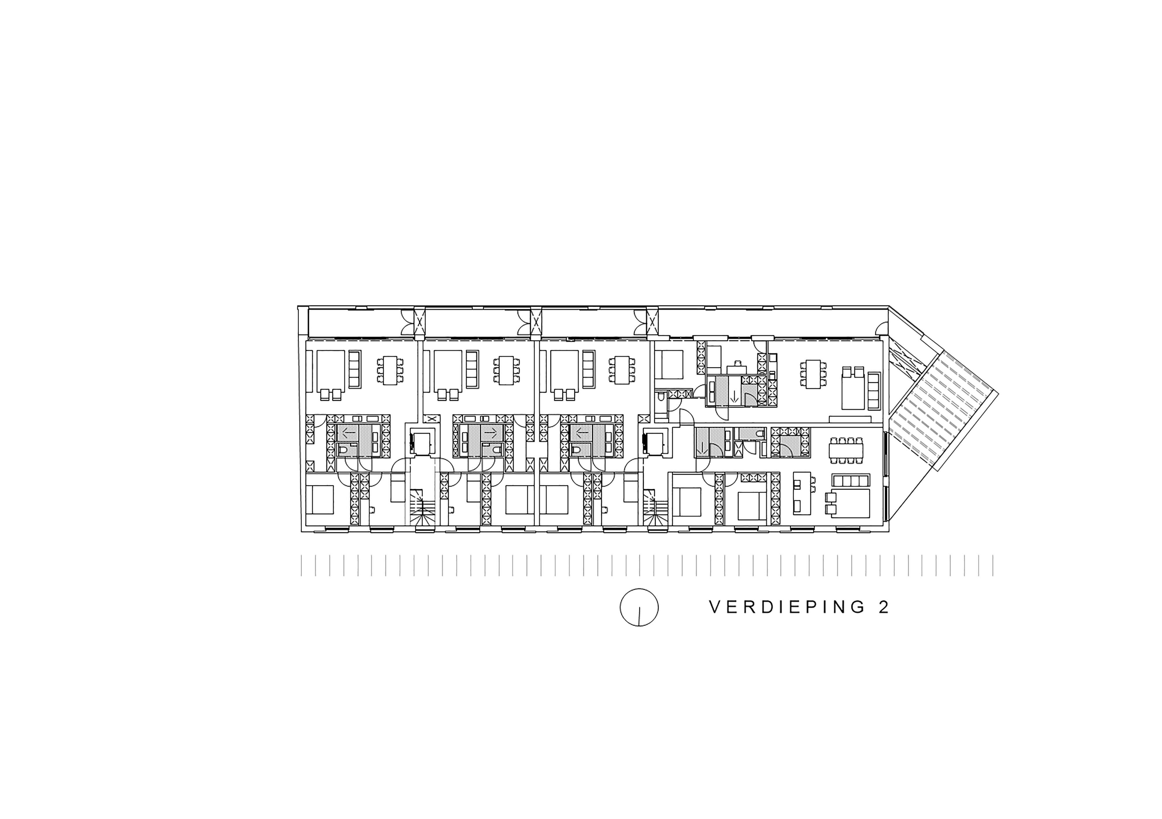verdieping 2 appartementen
